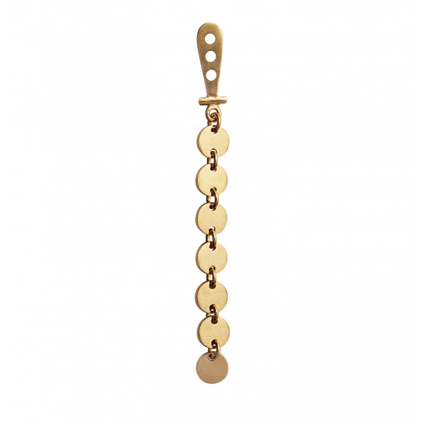 Petit Coins Behind Ear Earring Gold