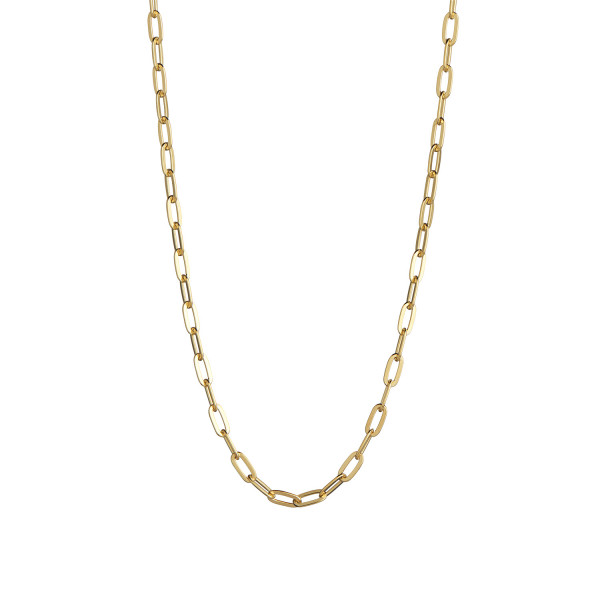 Big Chunky Pendant Chain Gold