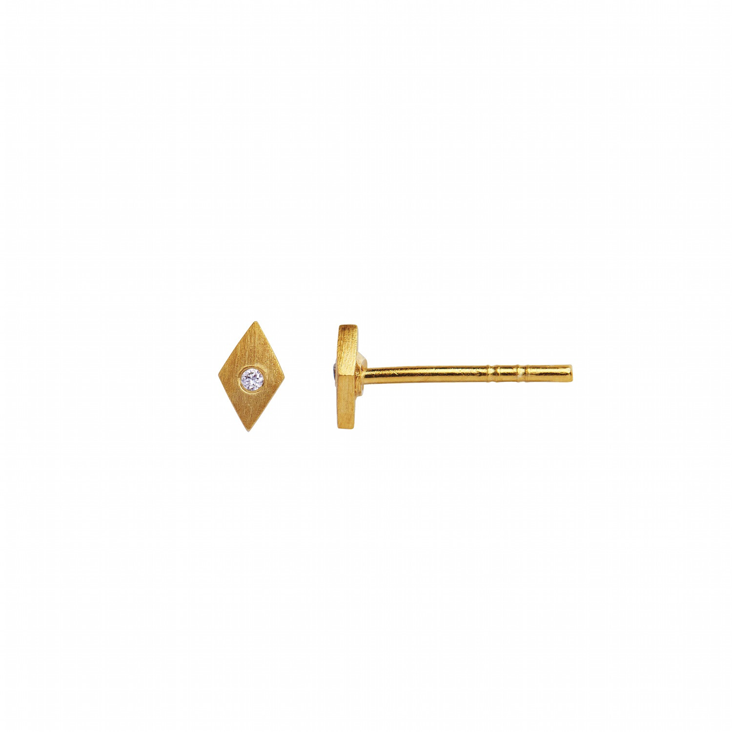 Petit Harlekin Earring Piece Gold