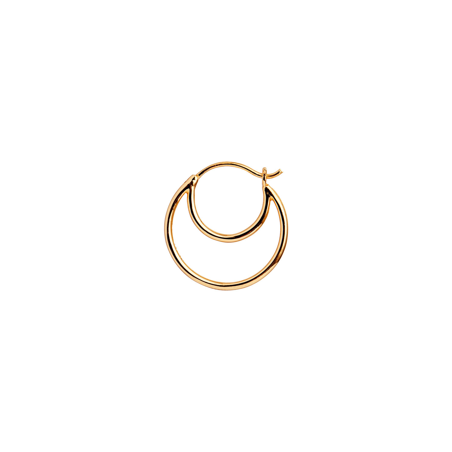 Double Creol Earring Gold