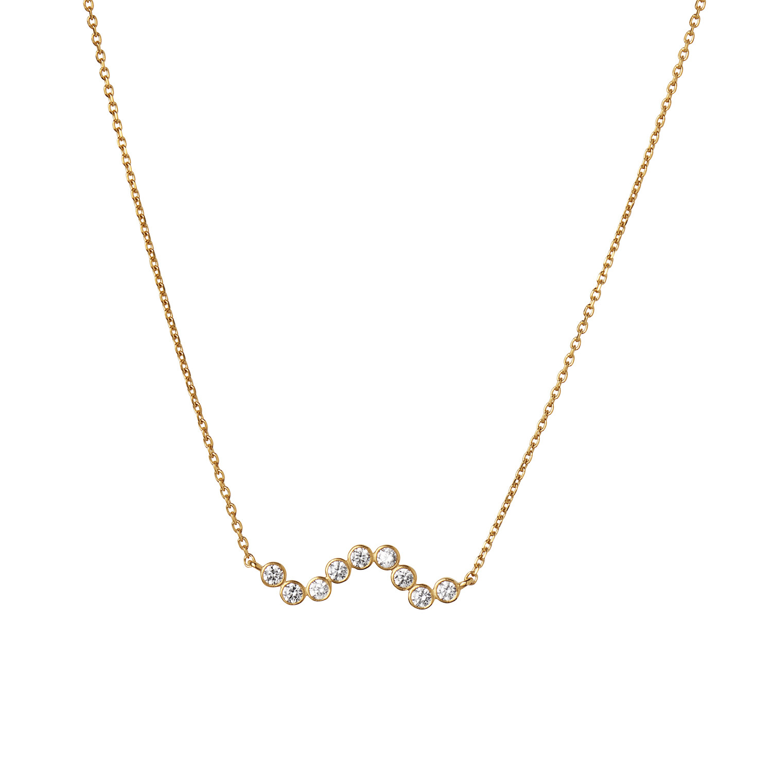 Midnight Sparkle Necklace Gold