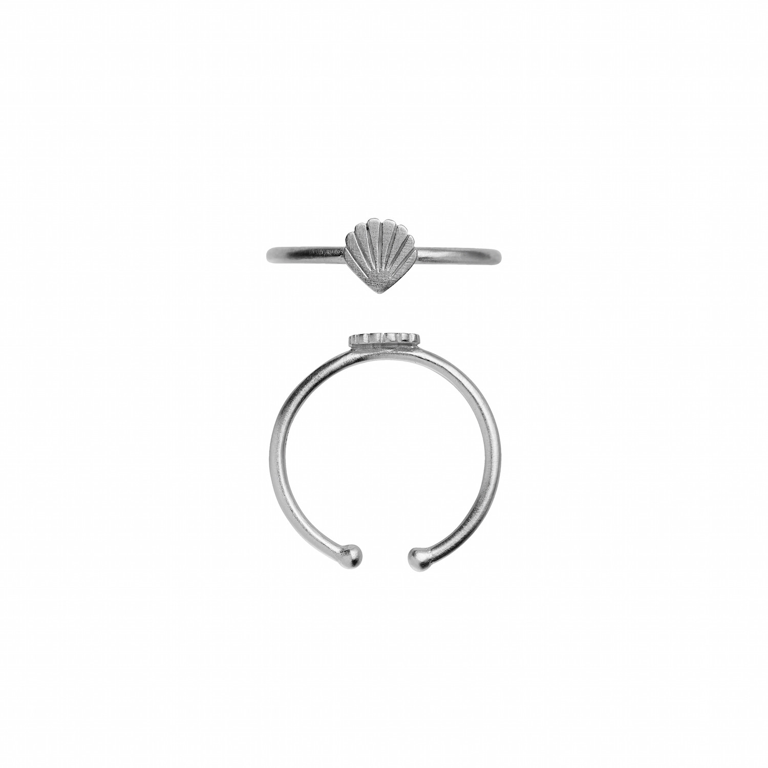Petit Shell Ring Silver