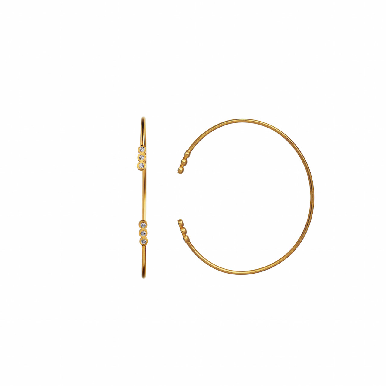 Six Big Dots Bracelet Gold