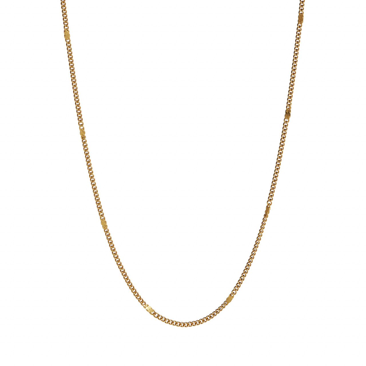 Petit Dots Pendant Chain Gold
