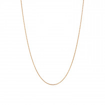 Plain Pendant Chain Long Gold