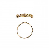 Love Wave Ring Gold-54