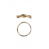 Love Wave Ring Gold