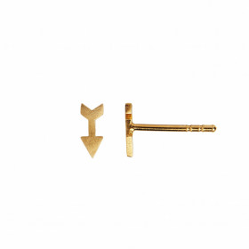 Petit Love Arrow Earring Piece Gold