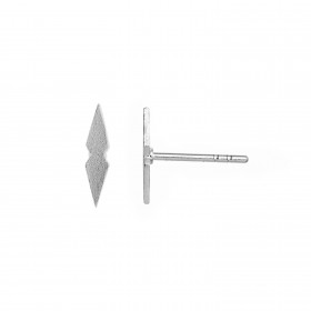 Petit Speer Earring Piece Silver