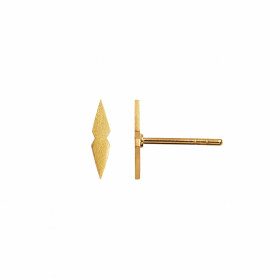 Petit Speer Earring Piece Gold