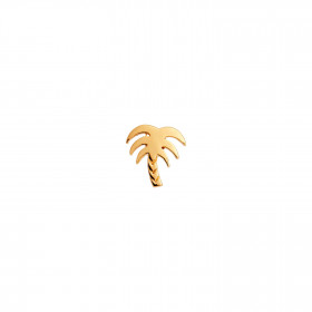 Petit Palm Earring Gold