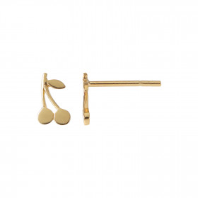 Petit Cherry Earring Gold