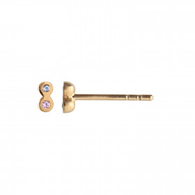 Two Candy Dots Earring Gold