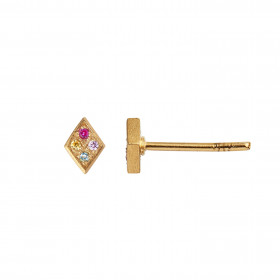 Petit Candy Harlekin Earring Gold