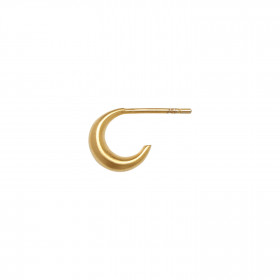 Petit Croissant Creol Earring - Gold