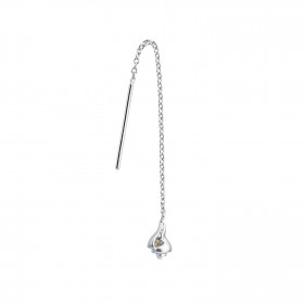 Dangling Petit Conque Earring Silver