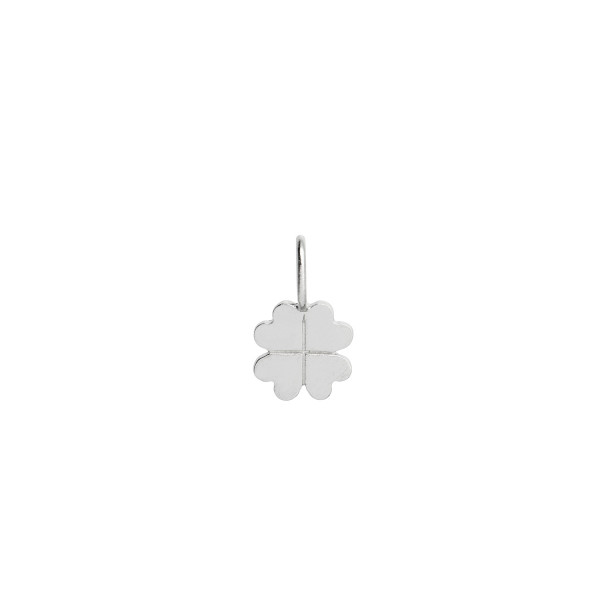 Petit Clover Charm Silver