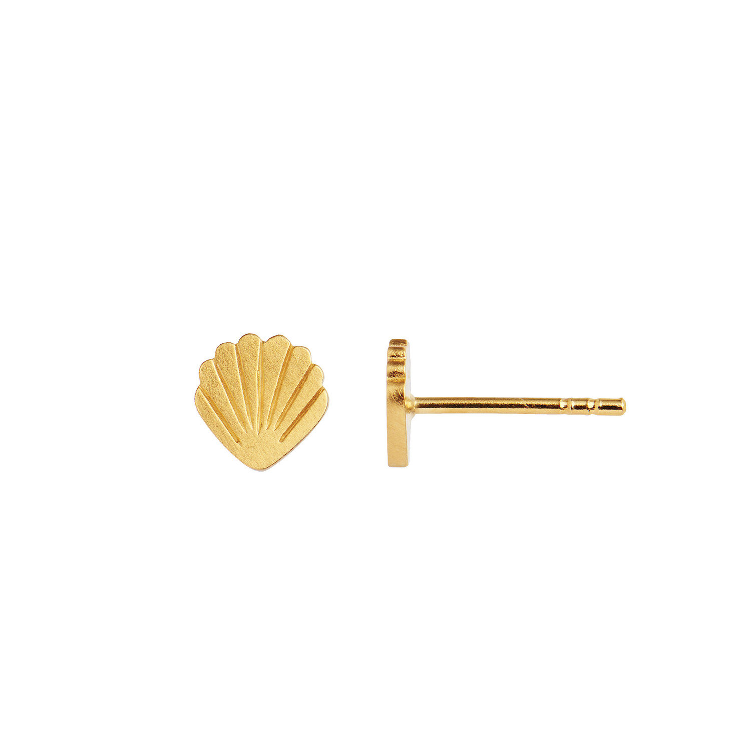 Petit Shell Earring Piece Gold