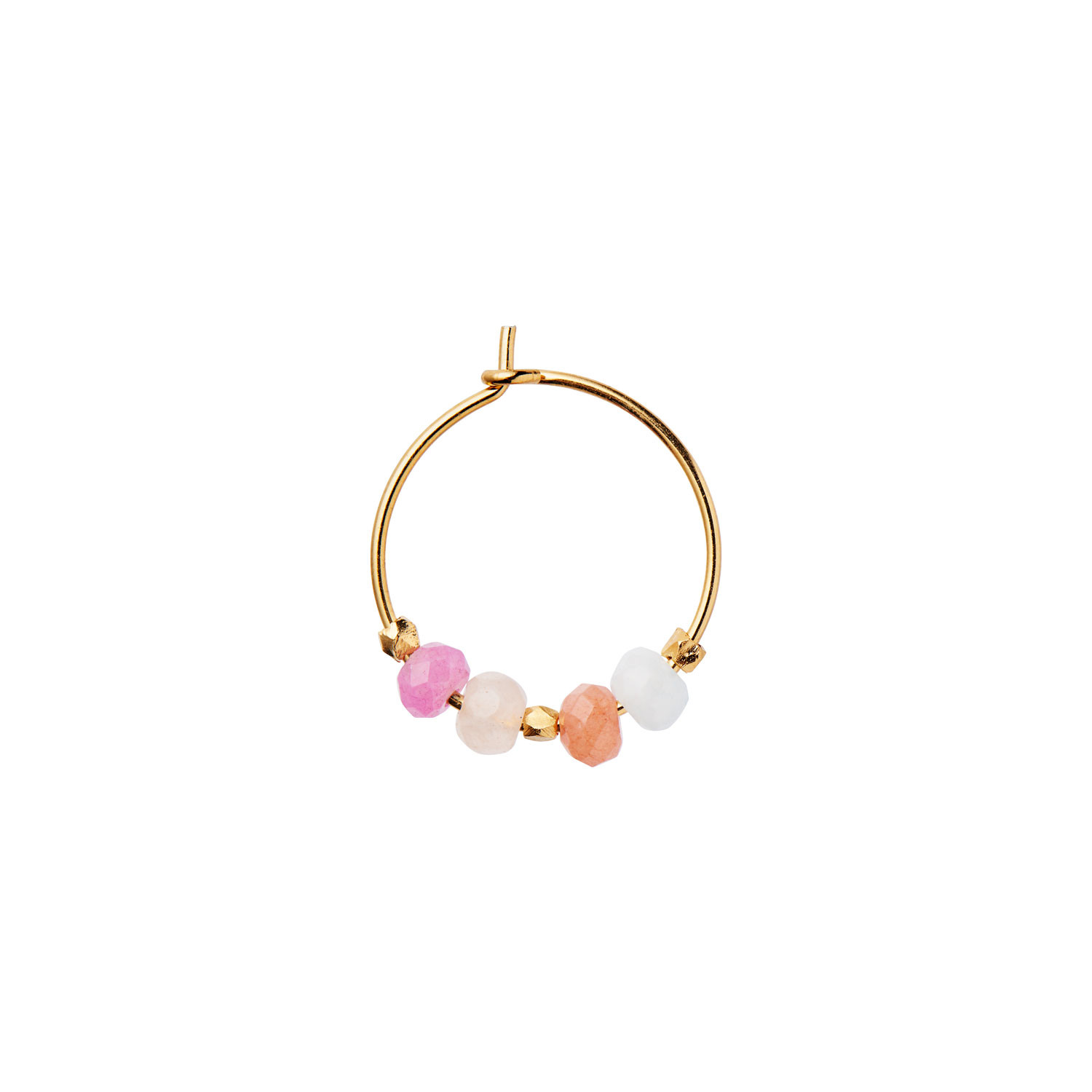 Color Crush Hoop Iceland Mix Gold