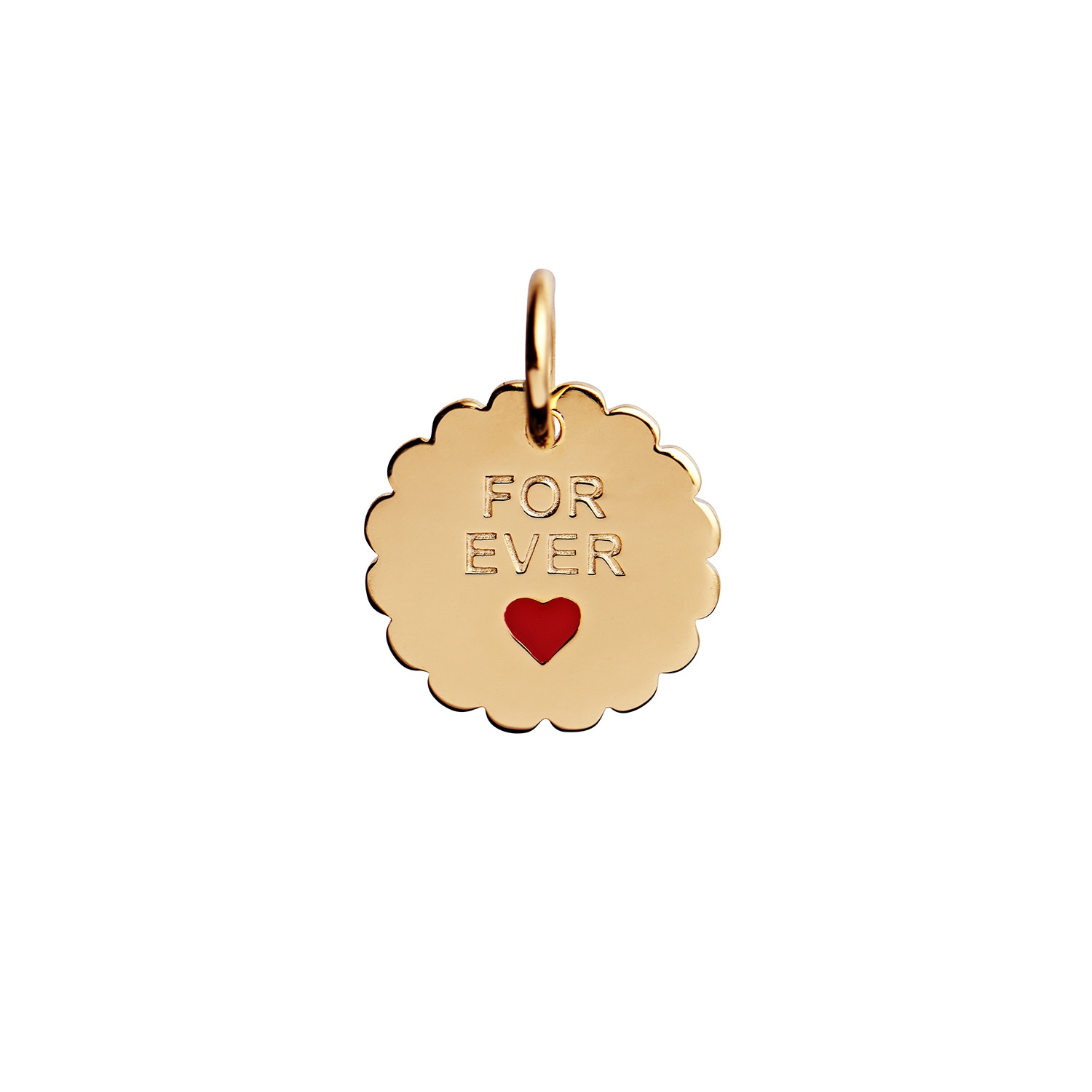 For Ever Pendant Gold