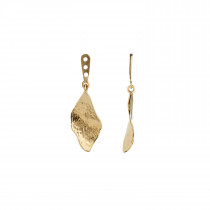 Ile De L'Amour Behind Ear-Earring Gold
