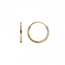 Petit Etoile Creol Earring Gold