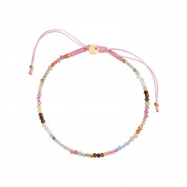 Candyfloss Rainbow Mix with Light Pink Ribbon