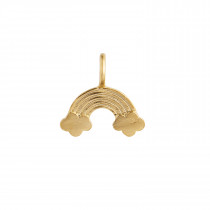 Love Rainbow Pendant Gold